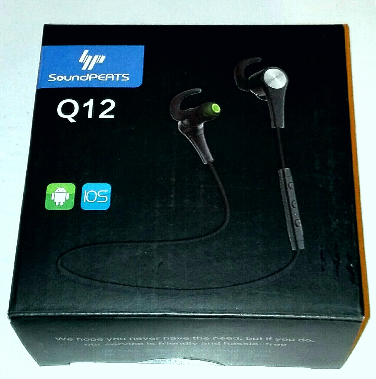 SoundPEATS Bluetooth イヤホンQ12